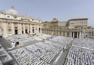 Бюджет Ватикана снова зафиксировал дефицит