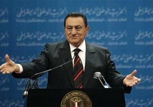 У Мубарака не оказалось счетов за рубежом