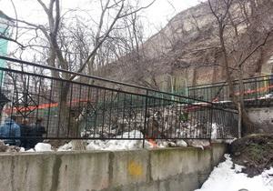 новости Киева - оползень - оползни - обвал - Ъ: Власти Киева признали угрозу оползней на 120 участках