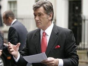 Ъ: Виктор Ющенко поворачивает раду вспять