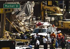 Жертвами обрушения здания в Филадельфии стали двое человек