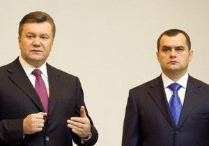 Указ: Янукович присвоил звание генерала главе МВД в порядке переаттестации
