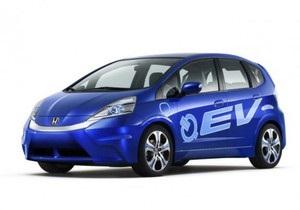 Honda представила новый электромобиль Fit EV