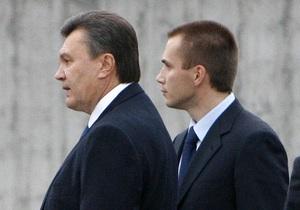 Сын Януковича открестился от покупки крупнейшего медиа-холдинга Украины