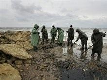 В Черное море вылилось 400 кг нефтепродуктов