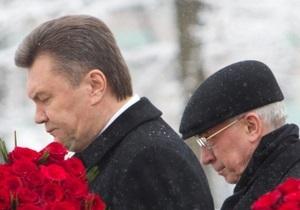 Янукович и Азаров соболезнуют родным и близким Оксаны Макар