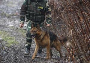 Харьковские пограничники задержали молодого человека с 15-ю пистолетами