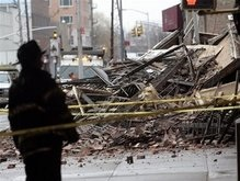 В Нью-Йорке обрушилось многоэтажное здание