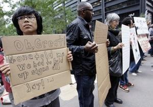 Зимой профсоюзы обеспечат участников акции на Уолл-стрит теплой одеждой