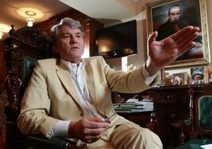 Источник: Ющенко хотят выгнать из Нашей Украины