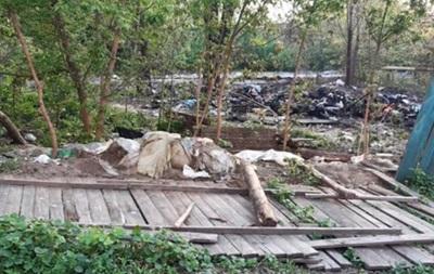 У Києві побили ромів і спалили їхній намет
