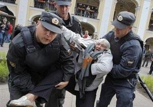 США выразили сожаление в связи с задержанием в России участников Марша несогласных
