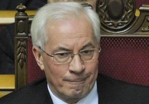 Азаров озабочен высоким рейтингом Свободы