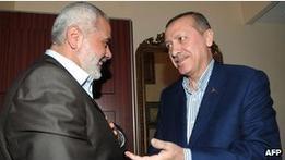 Премьер Газы посетил судно Флотилии свободы в Турции
