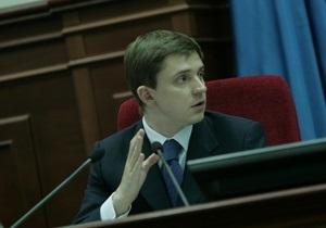Довгий представил депутатам новых руководителей районов Киева