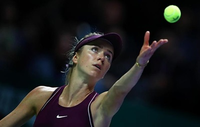 Українська тенісистка Еліна Світоліна - в десятці найкращих від WTA