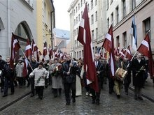 Россия назвала марш бывших эсесовцев в Риге постыдным сборищем