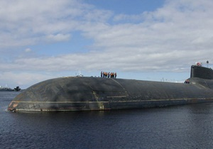 СМИ: Атомная подлодка Дмитрий Донской вышла в море для проведения пуска Булавы