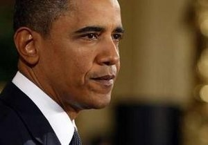 Опрос: 46% граждан США одобряют политику президента Обамы