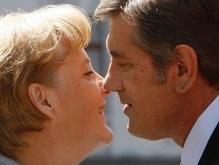 Фотогалерея: Меркель, Ющенко, Тимошенко и поцелуи