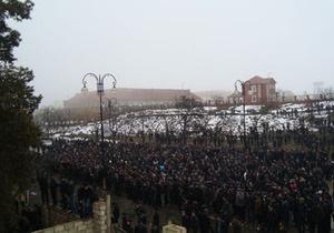 Из азербайджанского города, где произошли беспорядки, выведена бронетехника