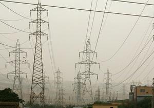 Укрэнерго провел аукцион по праву экспорта электроэнергии