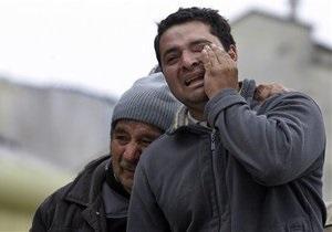 Число жертв землетрясения в Чили возросло до 400 человек