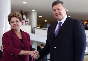 Янукович намерен присутствовать при первом запуске украинской ракеты в Бразилии в 2013 году