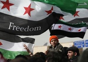В рядах сирийской оппозиции произошел раскол
