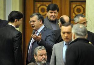 Лидер фракции НУ-НС: Список подписавшихся депутатов за коалицию с ПР - фальшивка