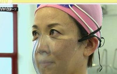 Японські інженери розробили маску для басейну