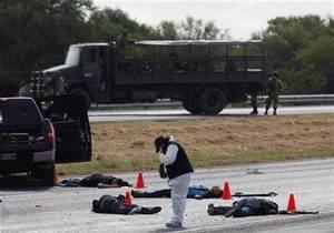 В Мексике в ходе перестрелок наркоторговцев погибли 14 человек