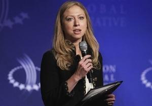 Челси Клинтон проведет в Киеве встречу с украинскими студентами