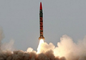 Пакистан провел испытания баллистической ракеты