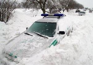Прогноз погоды на субботу: по всей Украине снег, метели, на дорогах гололед