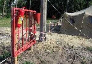 На въездах на Труханов остров в Киеве установят шлагбаумы