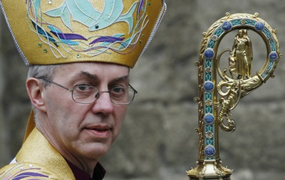 The head of the English Church called Jesus not white