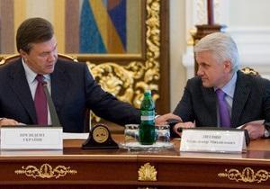 Янукович написал письмо Литвину