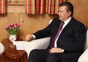 Янукович уверен, что в ближайшее десятилетие Украина станет одной из самых развитых стран