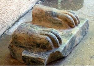 Новости науки - археологические находки - Древний Египет: В Израиле археологи обнаружили фрагмент древнеегипетского сфинкса