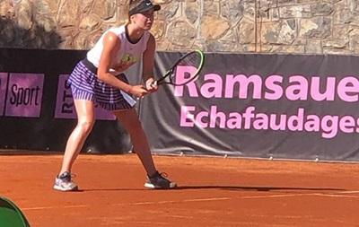 Свитолина не сумела выйти в полуфинал турнира в Швейцарии