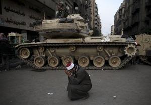 Армия Египта в ближайшее время обратится к народу