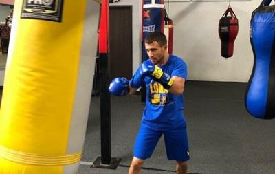 Ломаченко начал тренировочный лагерь перед боем с Лопесом