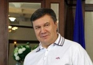 Источник: Янукович отпразднует свой день рождения в Крыму