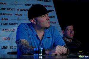Limp Bizkit в Киеве. Пресс-конференция 6 октября