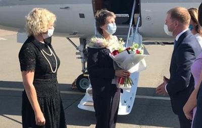 Президент Швейцарии впервые посетил Украину