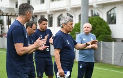 Луческу провел первую тренировку с Динамо