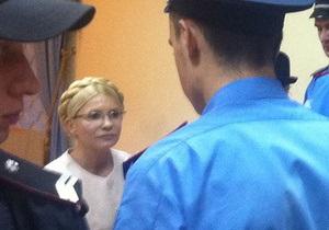 Тимошенко снова отказалась от медосмотра в СИЗО