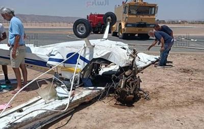 У єгипетському аеропорту впав приватний літак