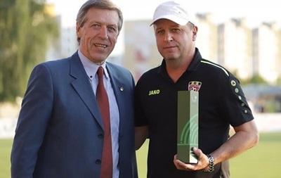 Вернидуб визнаний кращим тренером місяця в Білорусі